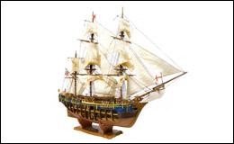 Начинаем сборку HMS «Bounty»