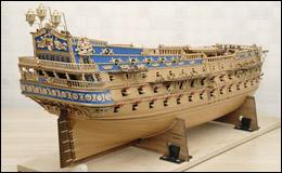 Модель San Felipe 1690