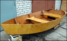 Постройка лодки «Ассоль 10»