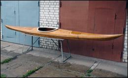 Постройка морского каяка «Буревестник» из фанеры